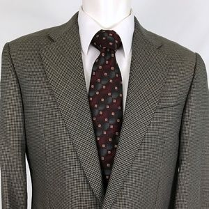 Hickey Freeman Canterbury Silk Wool  Sport Coat